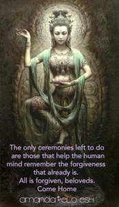 Goddess of Compassion message