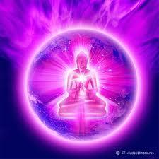 violet flame buddha